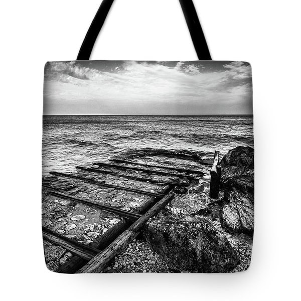 The Winter Sea #6 Tote Bag