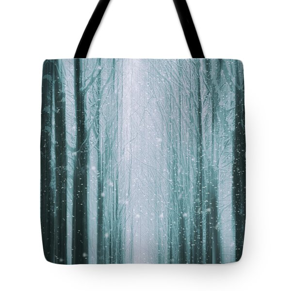 The Winter Wood Tote Bag