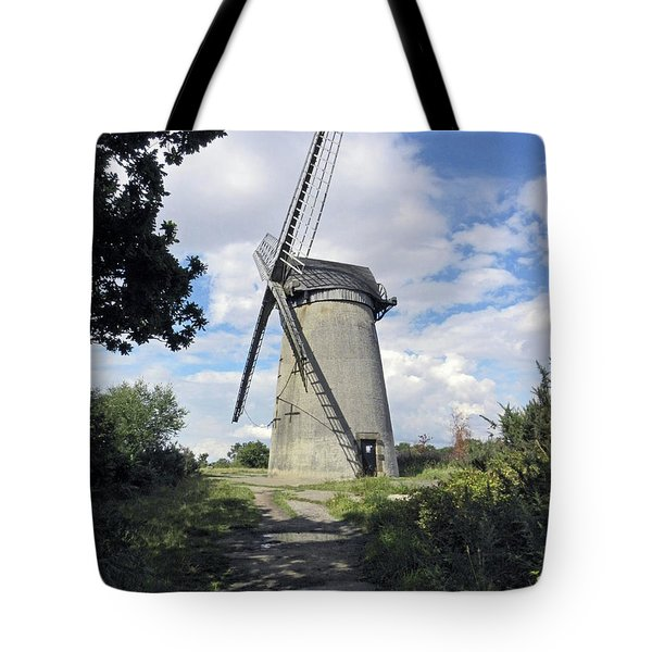 The Wirral. The Windmill On Bidston Hill. Tote Bag