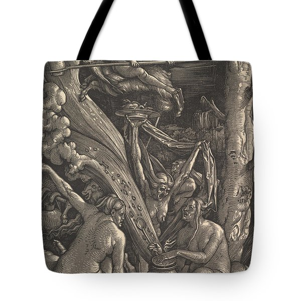 The Witches, 1510 Tote Bag