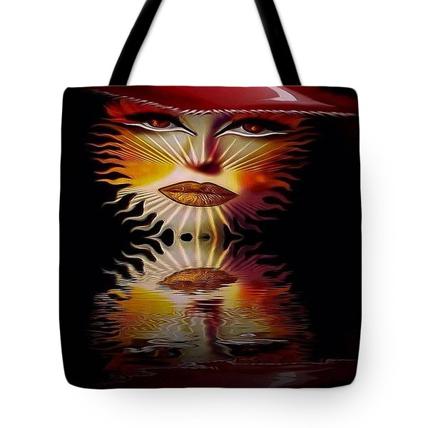 The Wizard Lady Of The Sun Tote Bag
