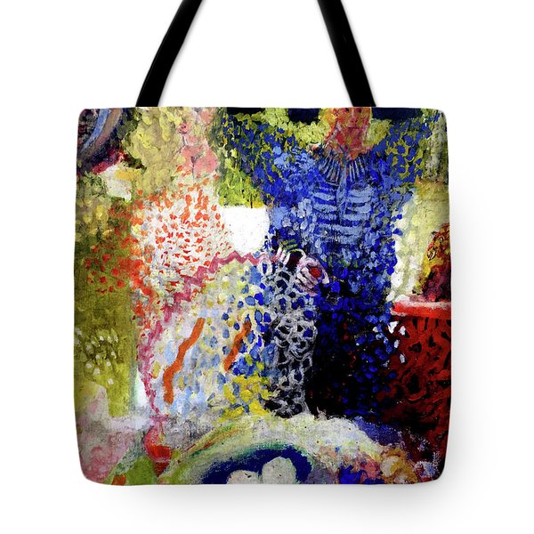 The Word Was Made Flesh The Egg And I Tote Bag