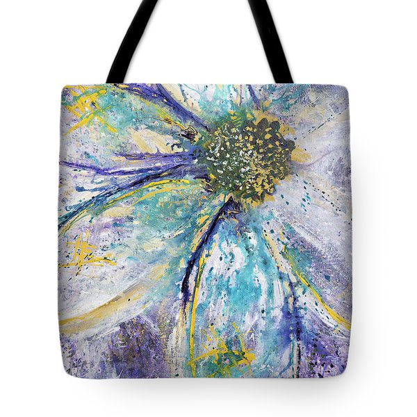 Tote Bag featuring the painting The World's Been Good To Me by Annie Young Arts