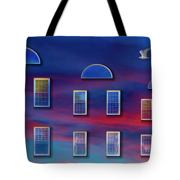 The Wormhole Tote Bag