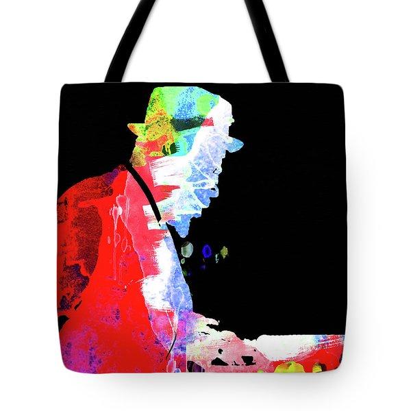 Thelonious Watercolor II Tote Bag
