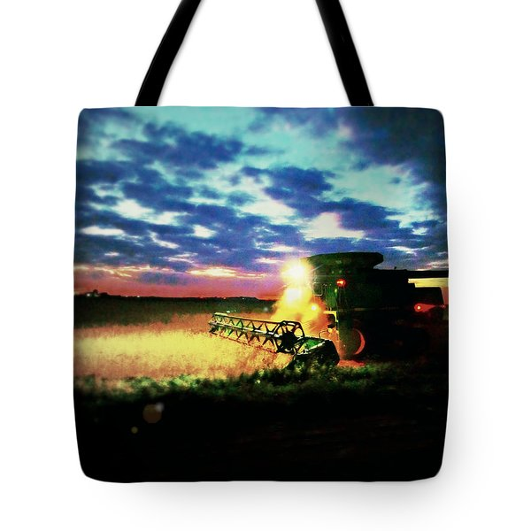 There Goes The Beans Tote Bag