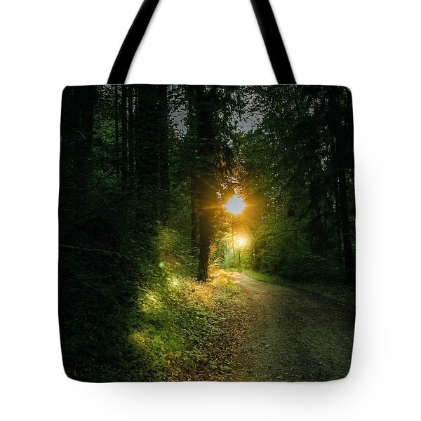 There Is Always A Light Tote Bag
