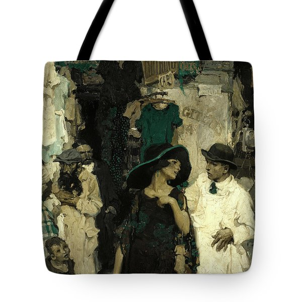 Third Avenue, Lower East Side Tote Bag