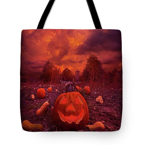 Tote Bag featuring the photograph This Is Halloween by Phil Koch