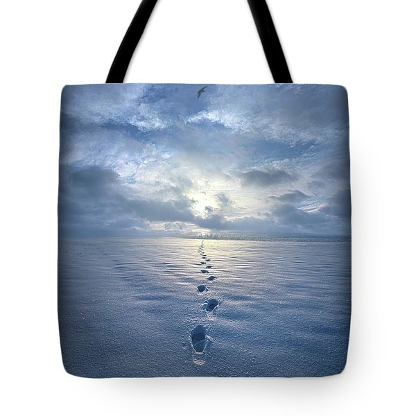 Tote Bag featuring the photograph This Is When I Carried You by Phil Koch