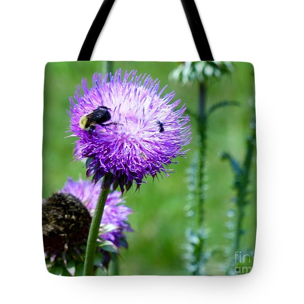 Thistle Visitors Tote Bag