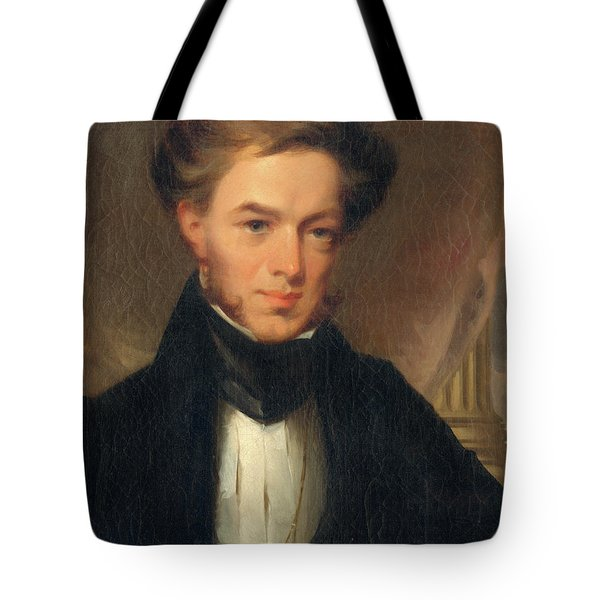 Portrait Of Thomas Ustick Walter, 1835 Tote Bag