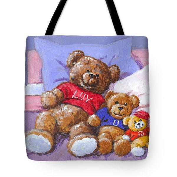 Three Amigos Sketch Tote Bag