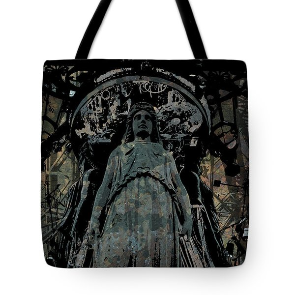 Three Caryatids Tote Bag