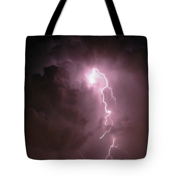 Three Faces Of God Tote Bag