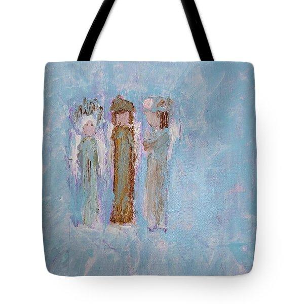 Angels For Appreciation Tote Bag