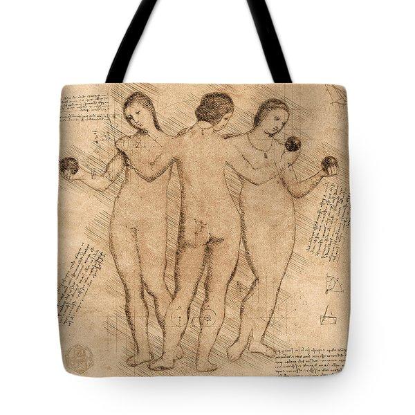 Three Graces - II Tote Bag