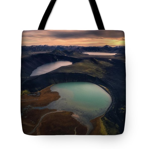 Three Lakes Tote Bag