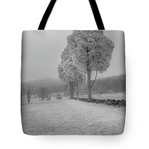 Three Sentinals Tote Bag