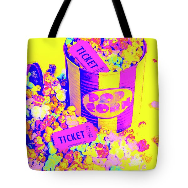 Thrills And Spills Tote Bag
