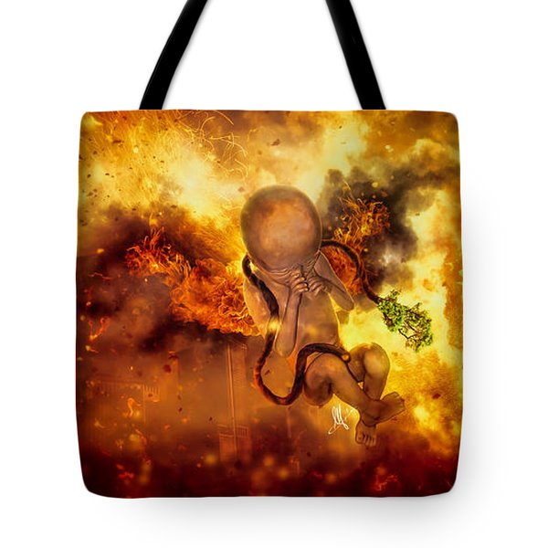 Through Ashes Rise II Tote Bag