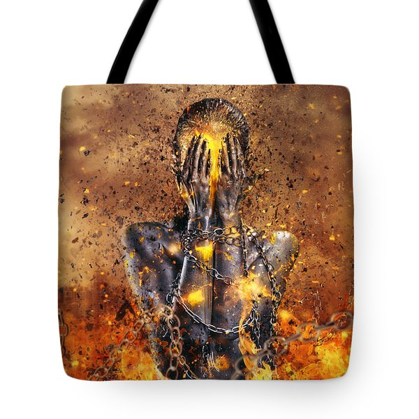Through Ashes Rise Tote Bag