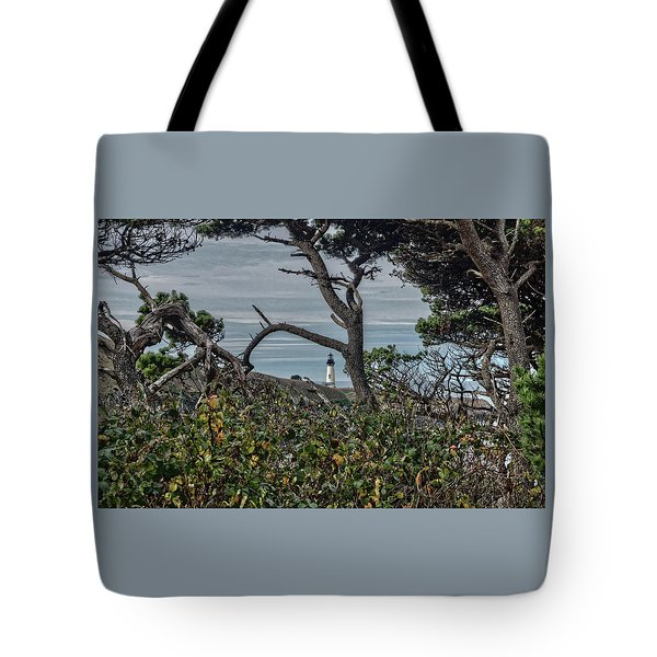 Tote Bag featuring the photograph Through The Foliage by Thom Zehrfeld
