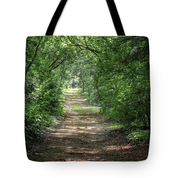 Tote Bag featuring the photograph Through The Forest by Dale Kincaid