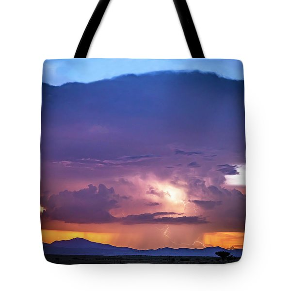 Through The Tower Tote Bag