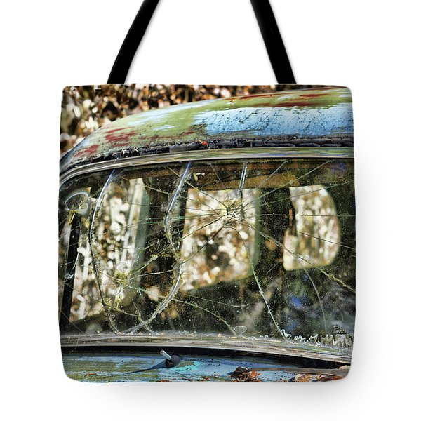 Through The Windshield Tote Bag