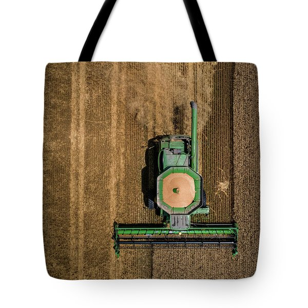 Through Wheat Tote Bag