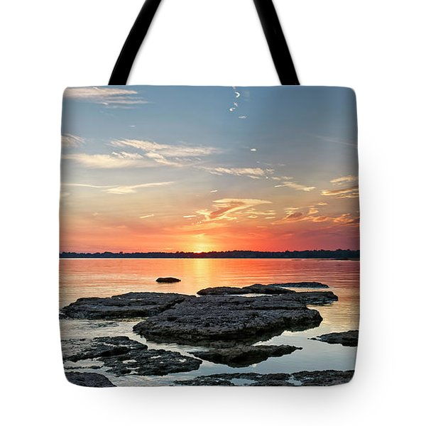 Thunder Bay Sunset Tote Bag