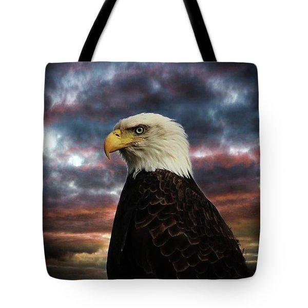 Thunder Eagle Tote Bag