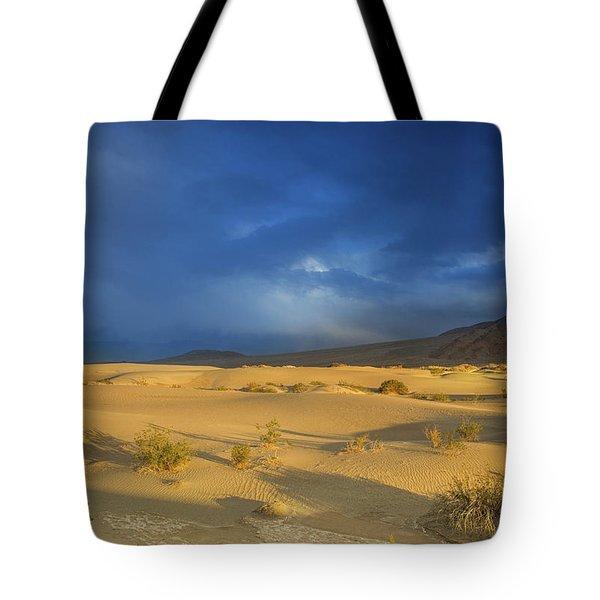 Thunder Over The Desert Tote Bag