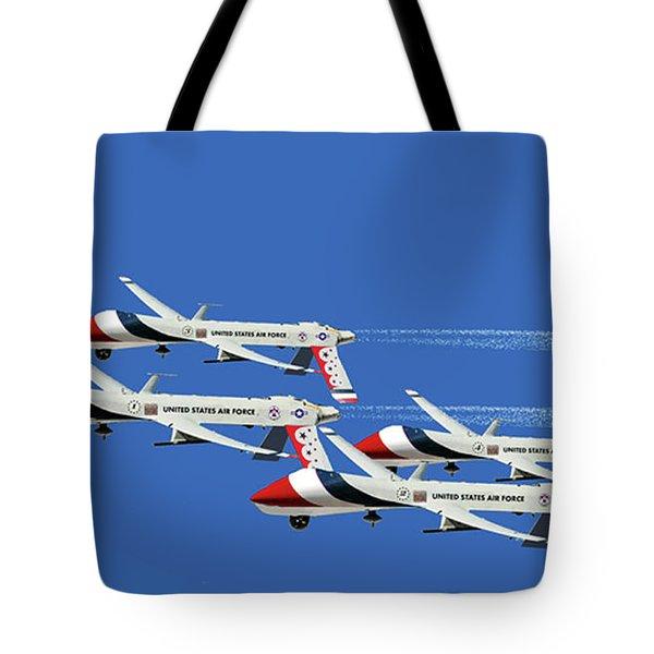 Thunderbird Drones Tote Bag