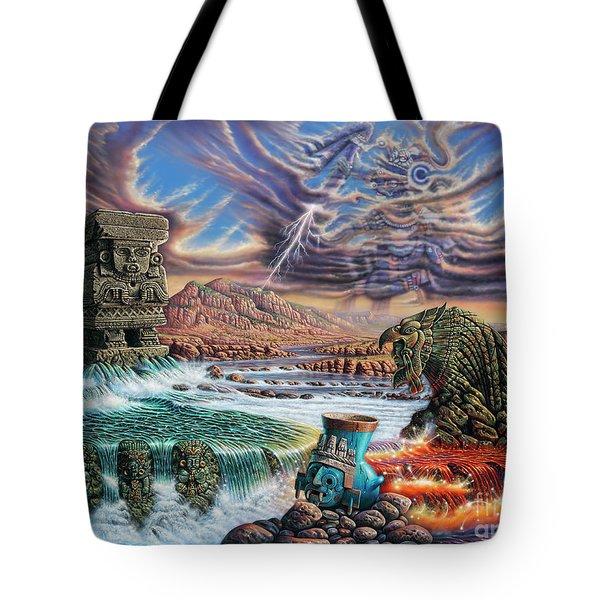 Thundering Gods Tote Bag