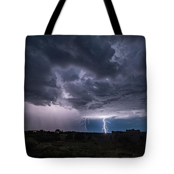 Thunderstorm #2 Tote Bag