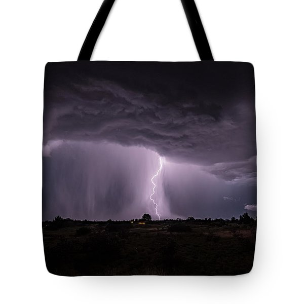 Thunderstorm #4 Tote Bag