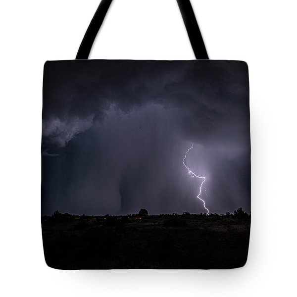 Thunderstorm #5 Tote Bag