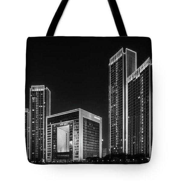 Tianjin Skyline Tote Bag