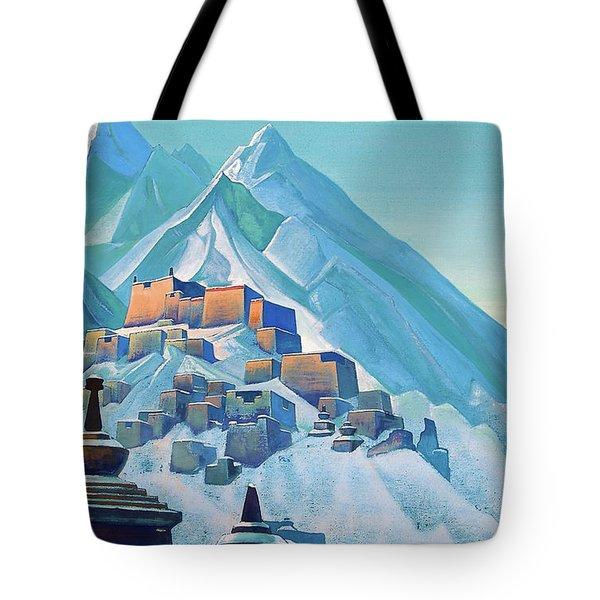 Tibet Himalayas - Digital Remastered Edition Tote Bag