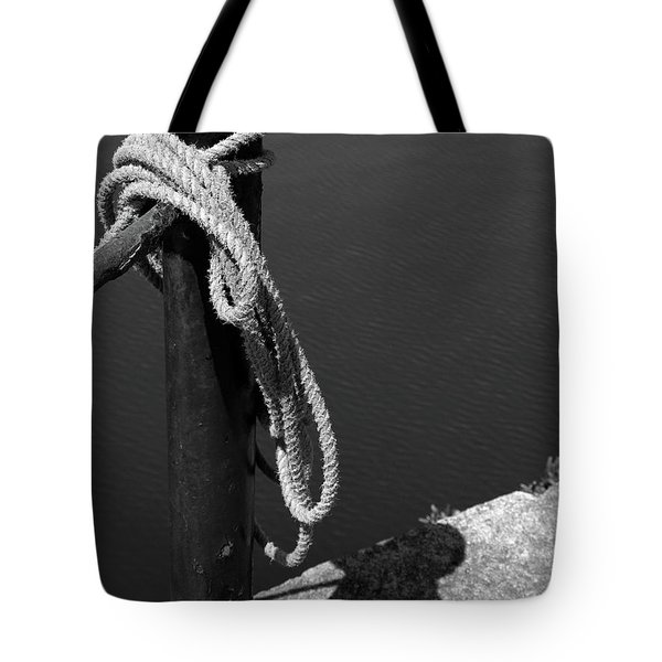 Tied, Rope Tote Bag