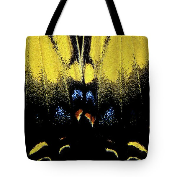 Tote Bag featuring the photograph Tiger Swallowtail  by Jeff Phillippi