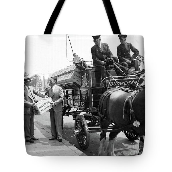 Time For A Bud Tote Bag
