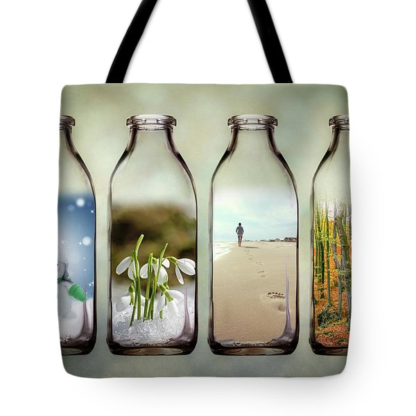 Time In A Bottle - The Four Seasons Tote Bag