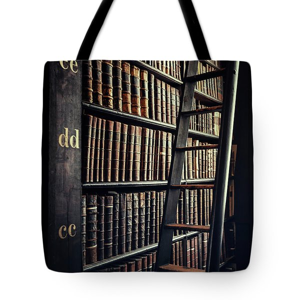 Time Is A Book Tote Bag