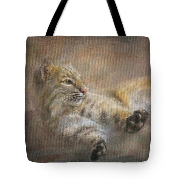 Tote Bag featuring the painting Time To Rise And Shine by Jai Johnson