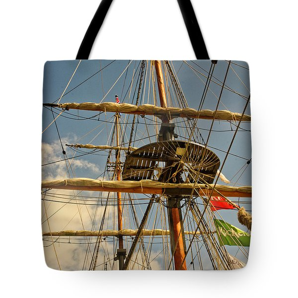 Time To Set Sail Tote Bag