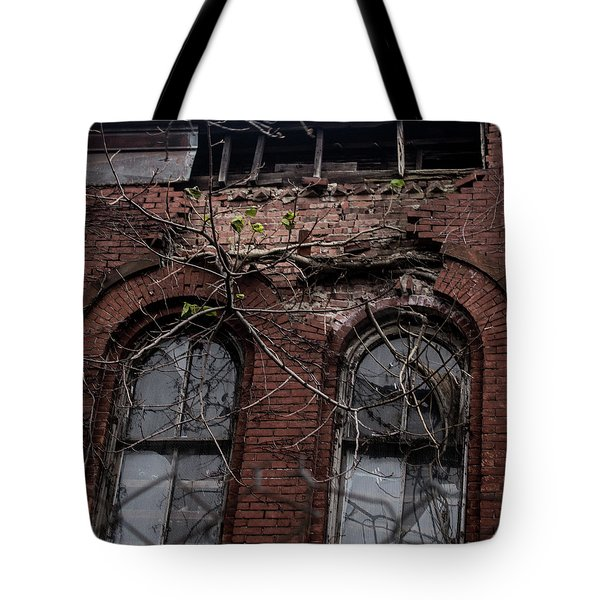 Time's Cathedral Tote Bag