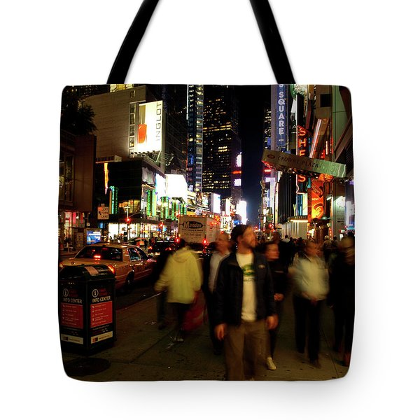 Time Square, Two Tote Bag